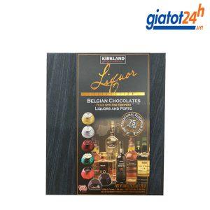 Kẹo Socola Nhân Rượu Kirkland Signature Liquor Belgian Chocolates