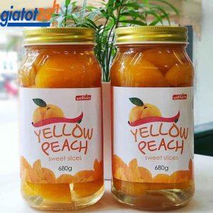 Đào Vàng Ngâm Wellheim Yellow Peach Sweet Slices tác dụng