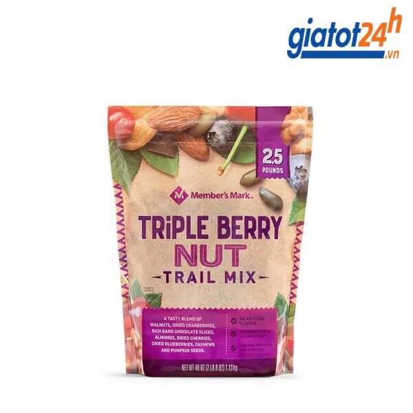 Hạt Mix Member's Mark Triple Berry Nut Trail Mix