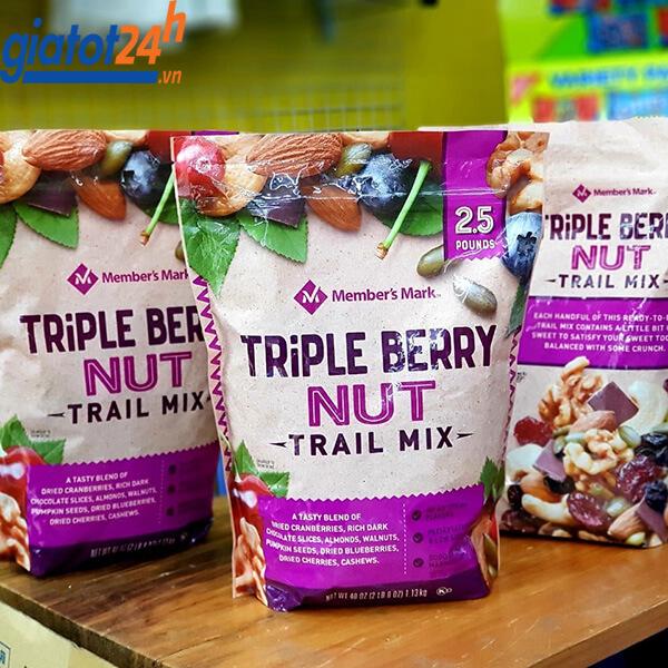 Hạt Mix Member's Mark Triple Berry Nut Trail Mix bán ở đâu