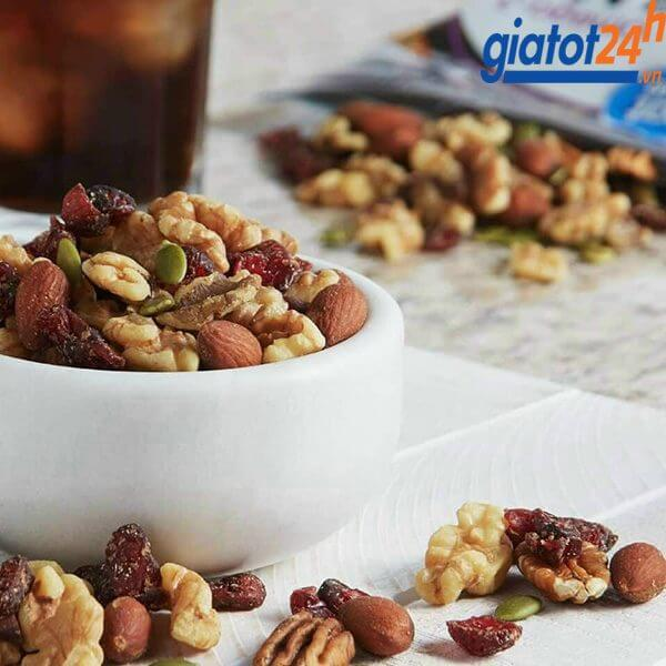 Hạt Mix Member's Mark Triple Berry Nut Trail Mix cách dùng