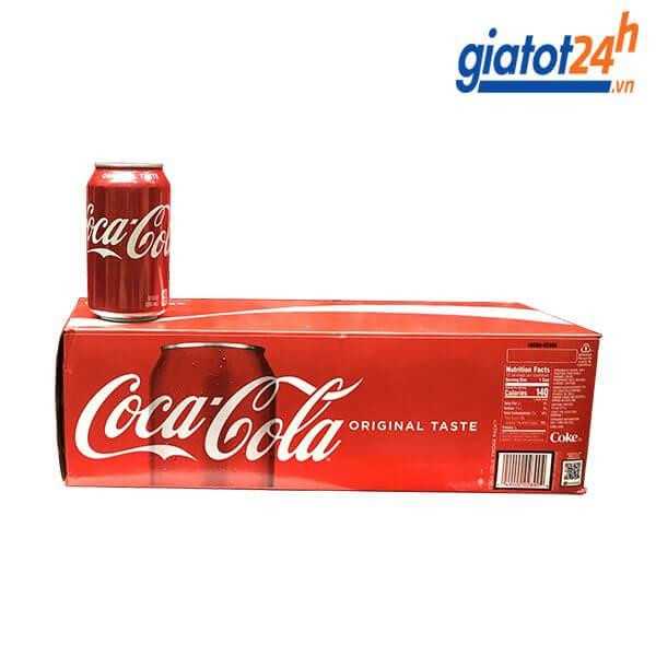 Nước Ngọt Coca Cola Original Taste 355ml