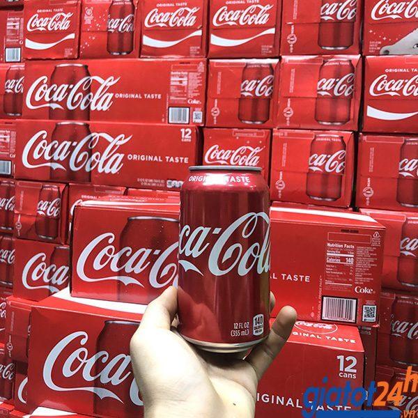 Nước Ngọt Coca Cola Original Taste 355ml giá bao nhiêu