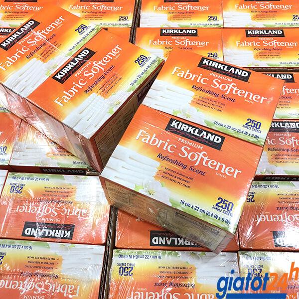 Giấy Thơm Kirkland Premium Fabric Softener Refreshing Scent bán ở đâu