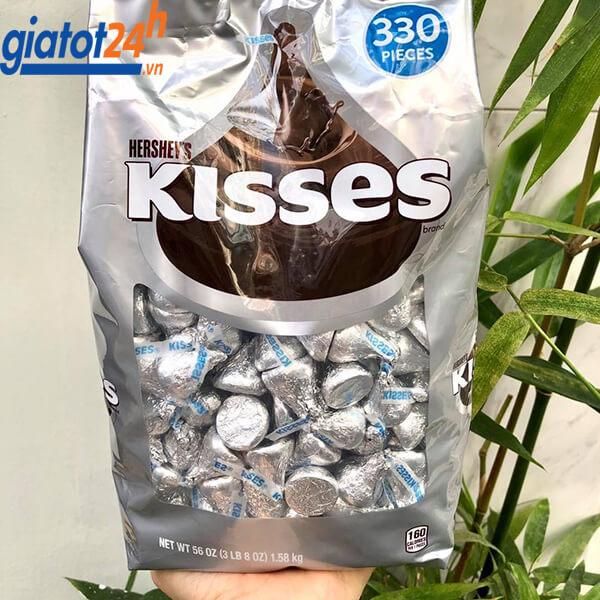 Kẹo Socola Hershey's Kisses Brand giá bao nhiêu