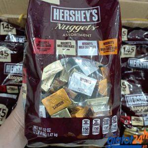 Socola Tổng Hợp Hershey's Nuggets Assortment Màu Nâu bán ở đâu
