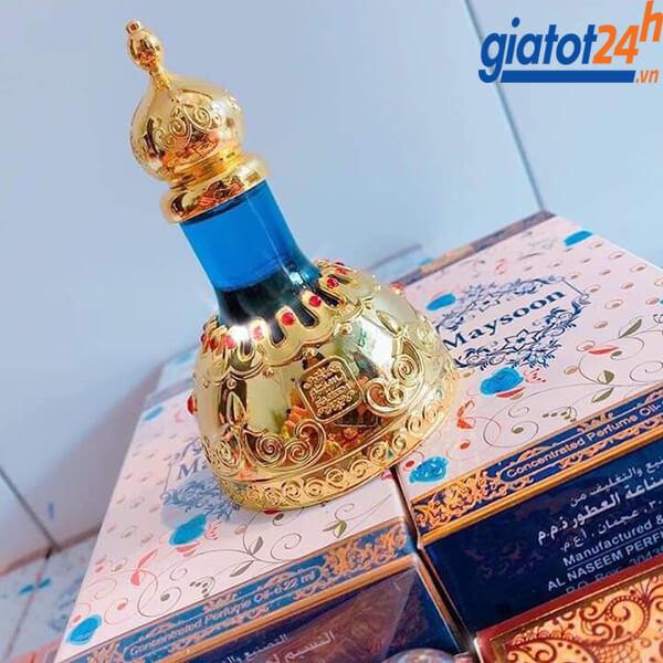 Tinh Dầu Dubai Naseem Maysoon Concentrated Perfume Oil bán ở đâu