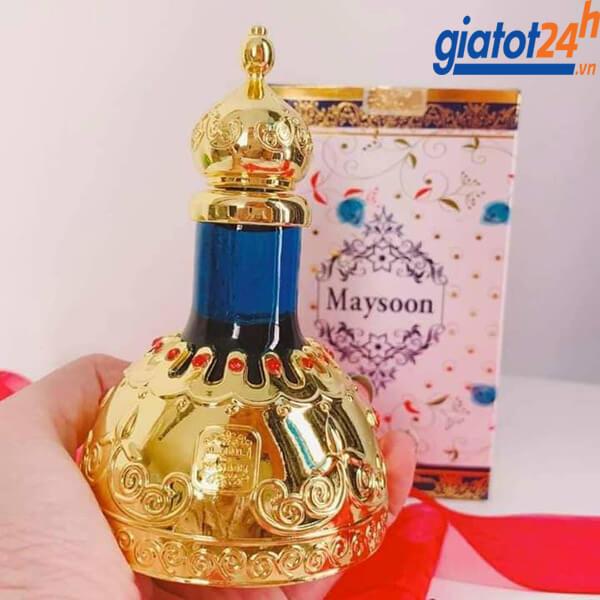 Tinh Dầu Dubai Naseem Maysoon Concentrated Perfume Oil giá bao nhiêu