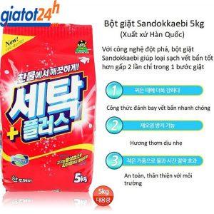 Bột Giặt Sandokkaebi Hàn Quốc giá