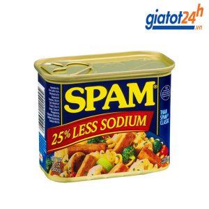 Thịt Hộp Spam Less Sodium