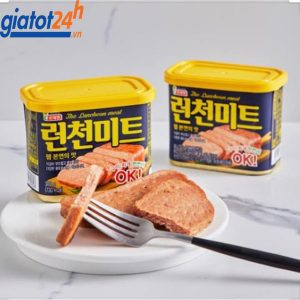 Thịt Hộp The Luncheon Meat công dụng
